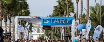 The start line at Limassol, Cyprus.