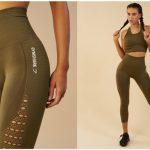 Gymshark Seamless Energy High Waisted Cropped Leggings