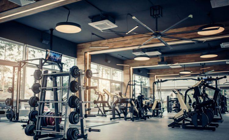 Empty gym.
