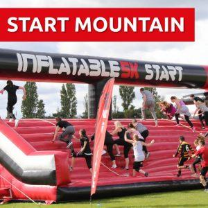 INFLATABLE 5K OBSTACLE COURSE RUN @ Chelmsford City Racecourse, | England | United Kingdom