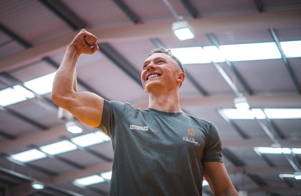 Nile Wilson at the peak of his fitness