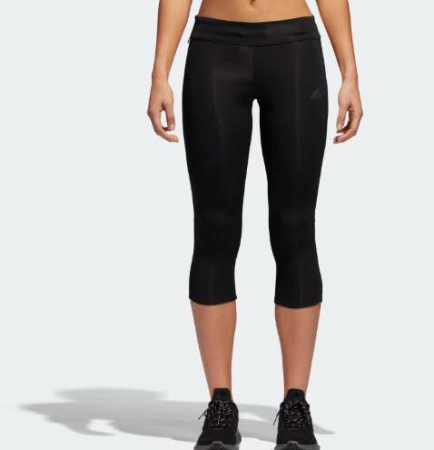 Adidas-Black-Response-3-4-Tights