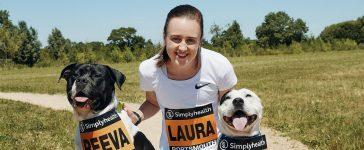 Laura-Muir-Simplyhealth-Canine-Run