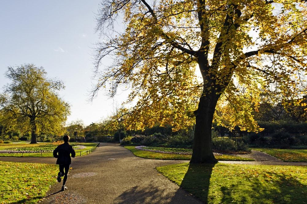 Running-Through-Hyde-Park