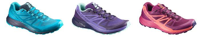 Salomon-Sense-Ride-Teal-Pink-Purple-Trainers
