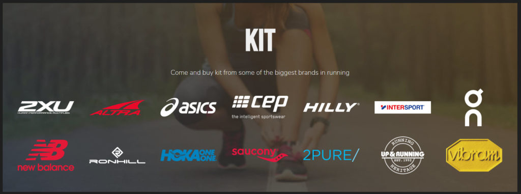 There are over 170 brands selling gear at the National Running Show