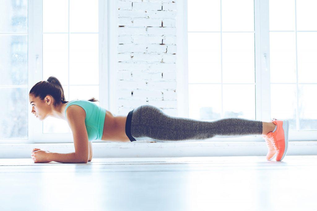 Pilates & Mental Health - plank