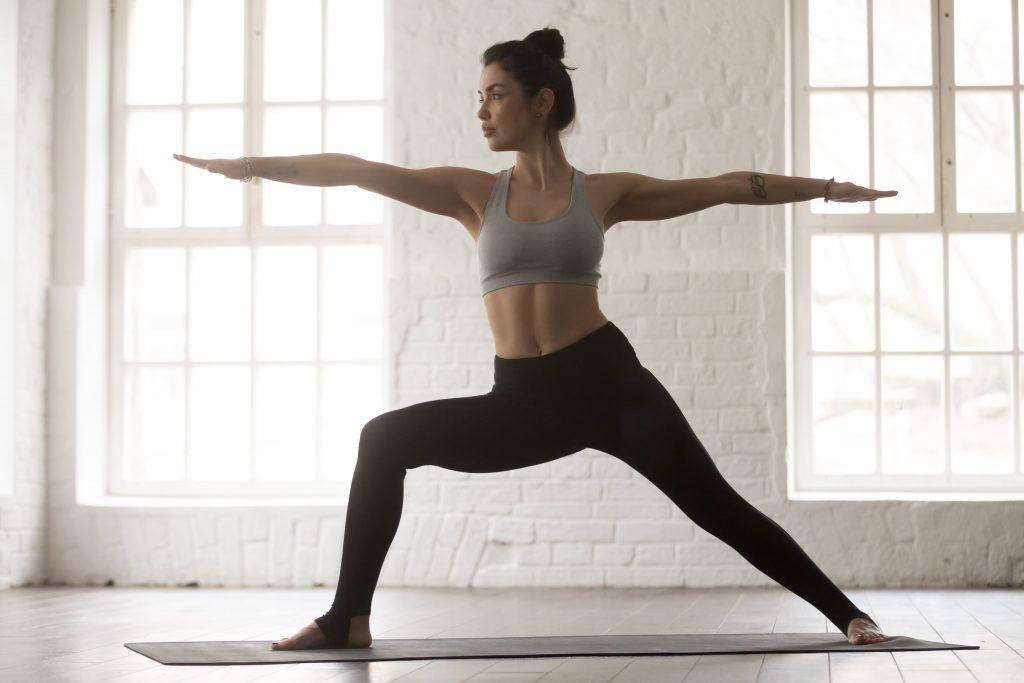 Pilates & Mental Health - Warrior 2