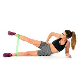 Side Leg Raise with a Resistance Loop