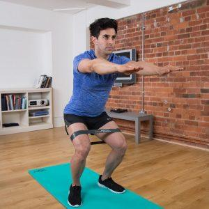 Squats with a Resistance Loop