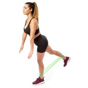 Standing Hip Extension with a Resistance Loop